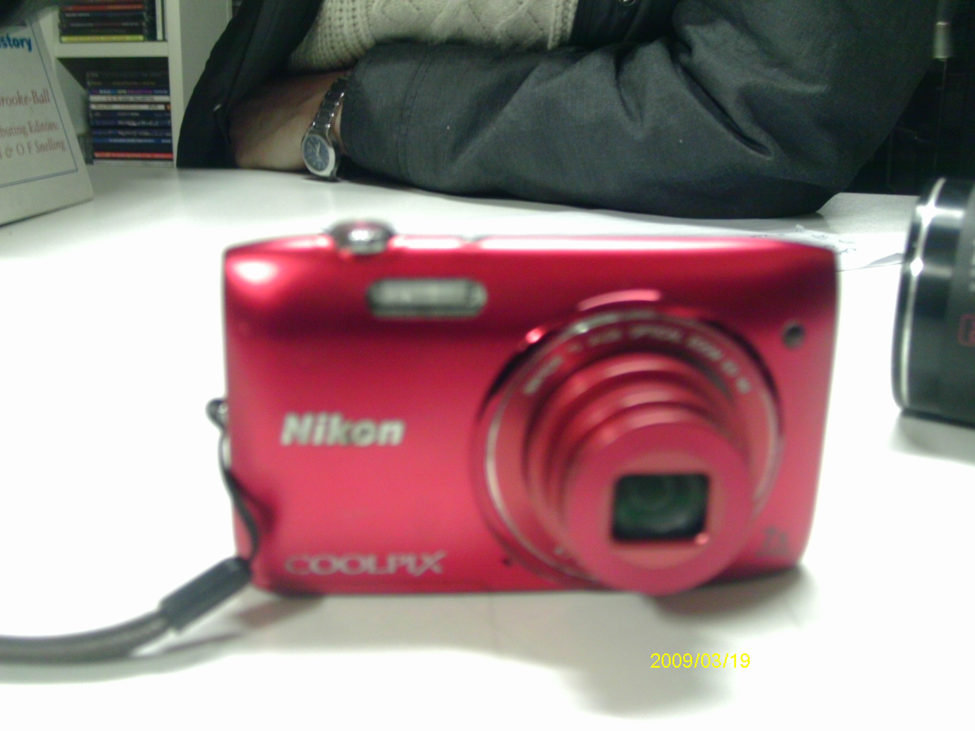 digital camera NIKON coolpix S3500