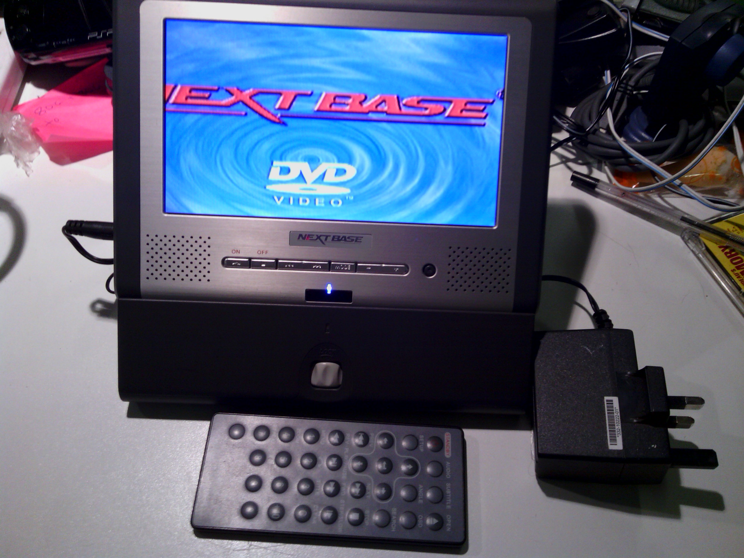 portable DVD player Next Base