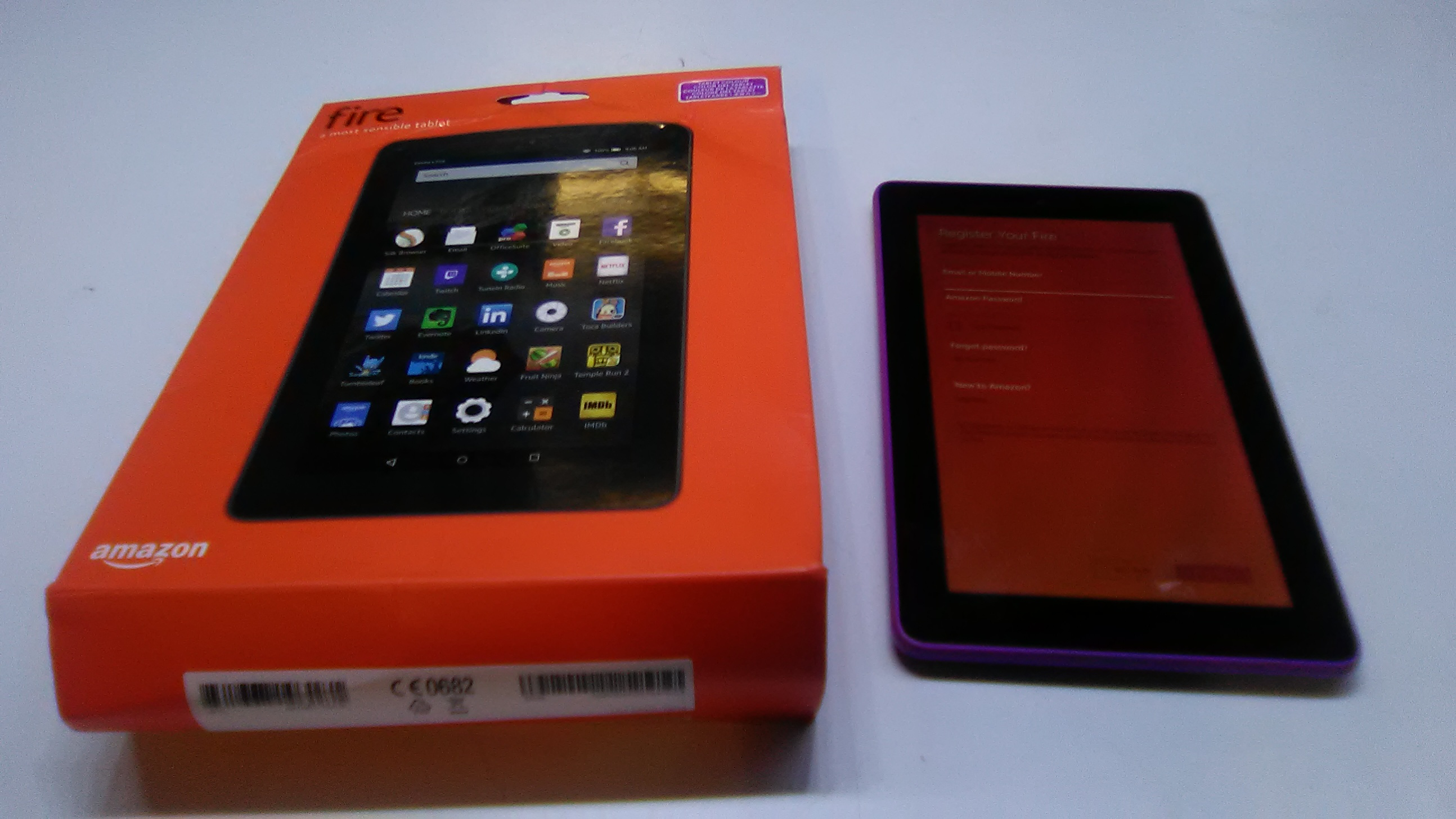Amazon kindle fire 7inch