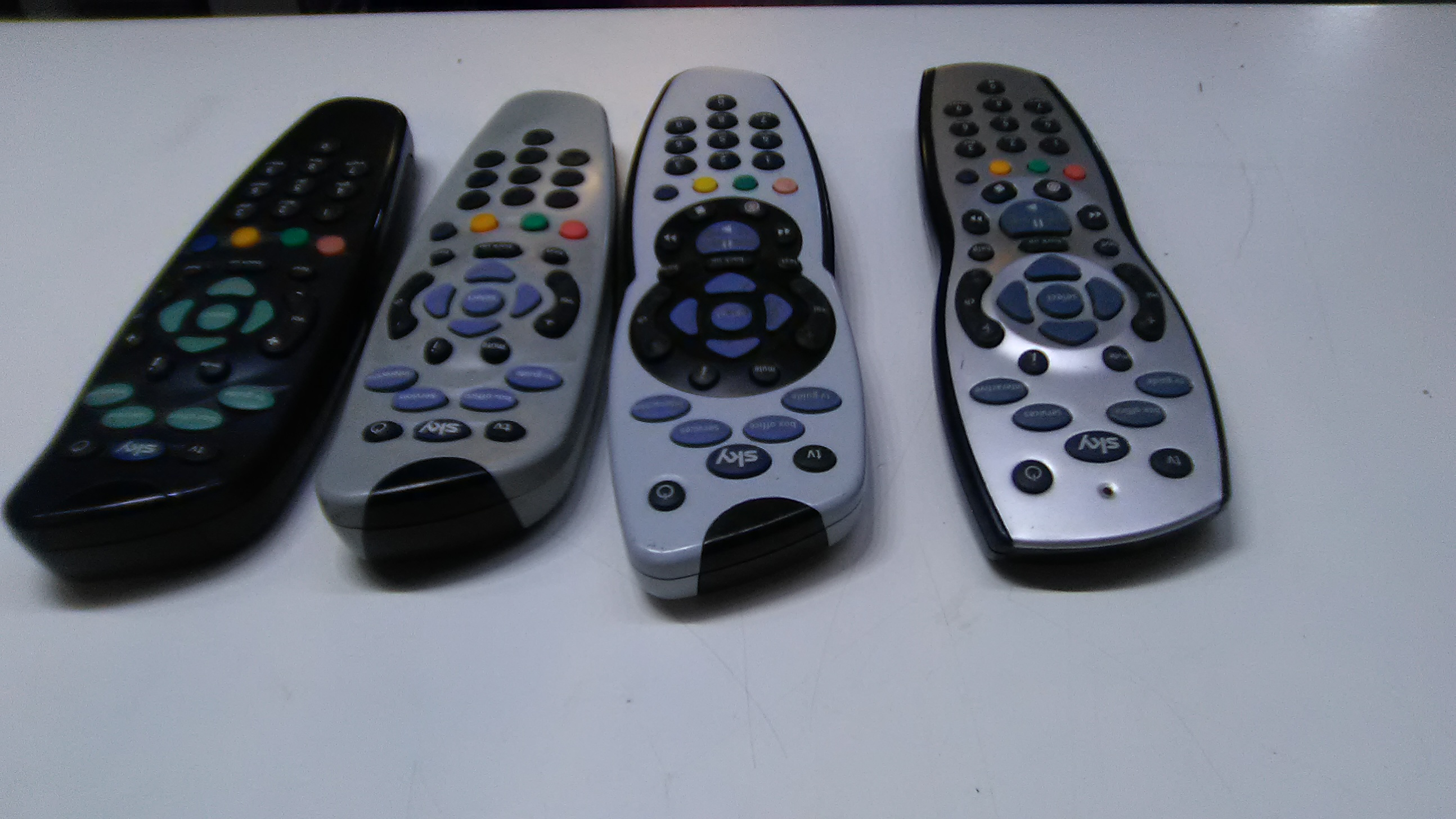 Sky remotes HD and normal